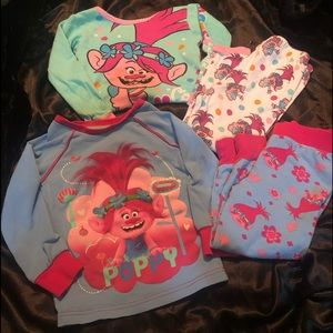 👧 2 - 3T - TROLLS Pajama Sets for Girls 👧